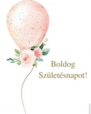 Boldog születésnapot! kártya_2