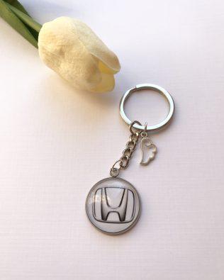 Honda logós kulcstartó