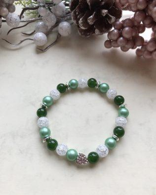 Zöld-fehér szépség
