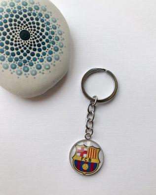 FC Barcelona logós kulcstartó