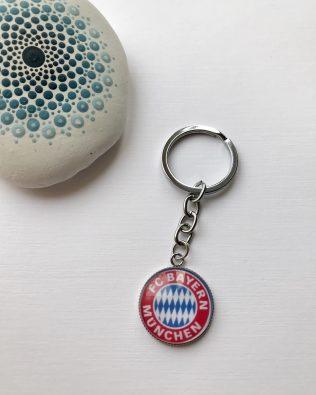 FC Bayern München logós kulcstartó