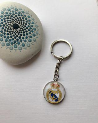 Real Madrid CF logós kulcstartó
